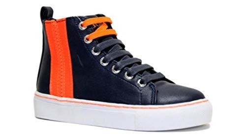 Guess Trampki wysokie buty dziecięce sneaker HIGH 7LHIELE12 czarne, - Blu - 28 EU