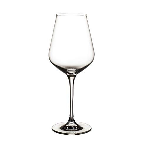 Villeroy & Boch la Divina Lot de 4 Verres à Vin Blanc en Verre 380 ml, Cristallin