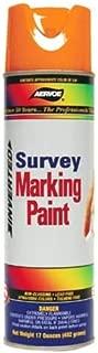 Aervoe 222 Fluorescent Survey Marking Paint, Aerosol 20 oz.(Orange)