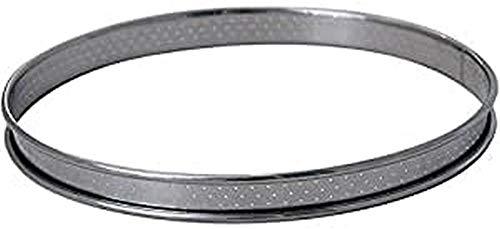 DE BUYER -3093.08 -cercle a tarte inox perfore ht2 ø08 cm