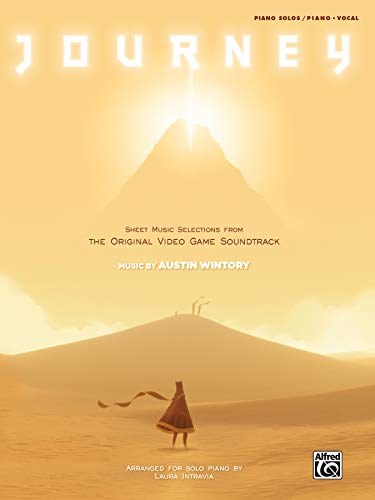 Journey Sheet Music Selections from the Original Video Game Soundtrack  |  Klavier  |  Buch