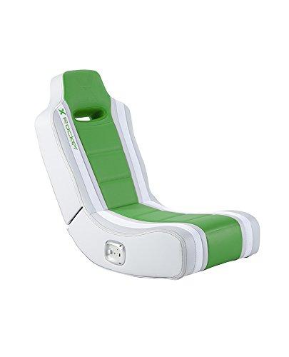 X Rocker Hydra 2.0 Floor Rocker Gaming Chair with 2.0 Audio System (Green)