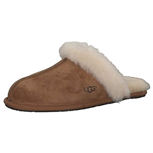 UGG Womens Scuffette II Chestnut Slipper - 8