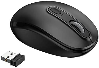 AHGUEP Wireless Mouse 2 4G Silent Cordless Mouse 3 Adjustable DPI Portable Computer Mobile Optical product image