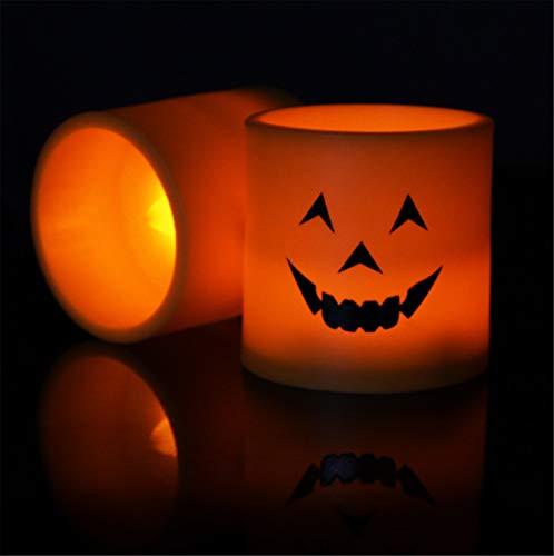 ELEGENCE-Z kaarsen lichten, geel licht knipperen plastic led kaars kerk kaars warm slaapkamer verjaardag partij -6 stks