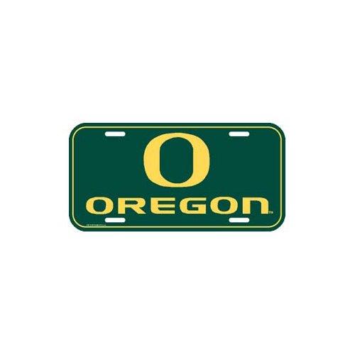 NCAA University of Oregon License Plate