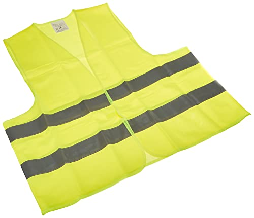 Gilet de securite jaune reflechissant ce en-471 t/xl unique