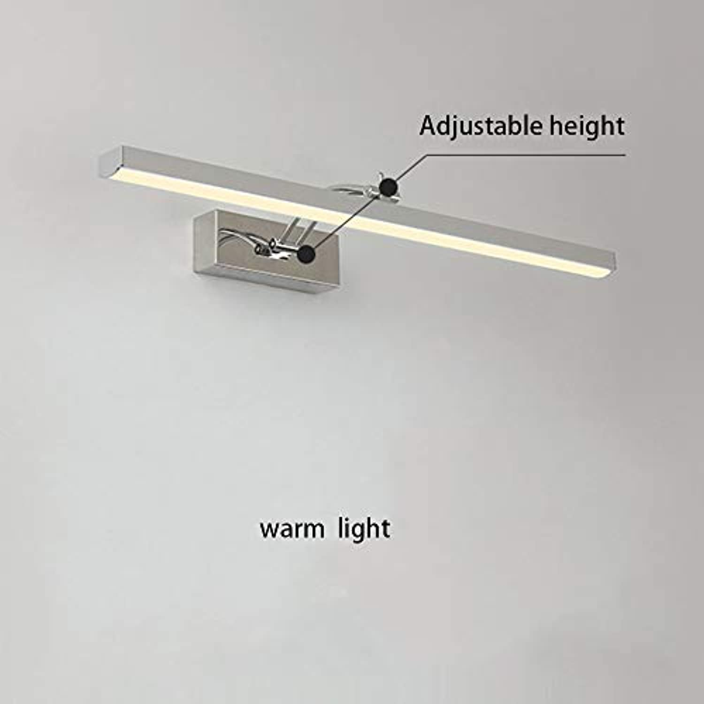 GBX Multiszenenspiegel Scheinwerfer Lampe Led Spiegel Frontleuchte Badezimmer Dressing Lichter Spiegel Einfache Moderne Badezimmer mit Edelstahl (41 Cm-7 Watt   57 Cm-10 Watt   72 Cm-13 Watt),Warmes