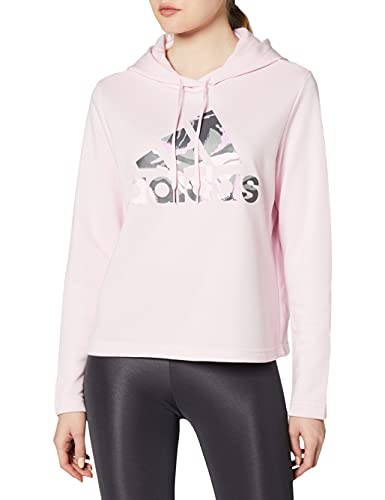 adidas GL7555 W Camo HD Sweat Womens Clear Pink S