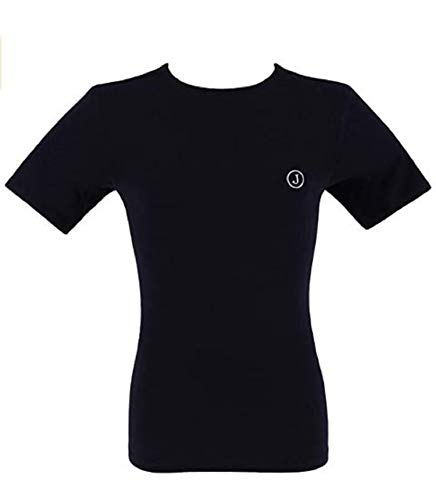 Jeckerson Maglia T-Shirt Uomo Girocollo Cotone Intimo, Blu L