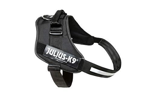 Julius-K9, 16IDC-P-3, IDC-Powergeschirr, Hundegeschirr, Größe: 3, schwarz