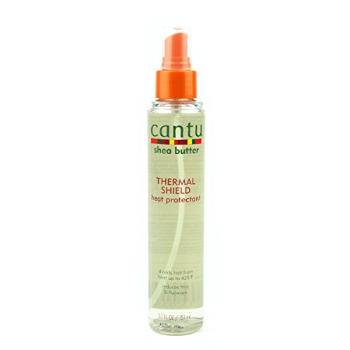 Cantu Shea Butter Thermal Shield Heat Protectant 5.1oz by Cantu