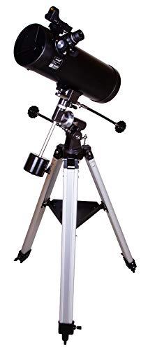 Levenhuk Skyline Plus 115S Telescopio Reflector Newtoniano, con Distancia Focal Corta y Óptica con Revestimiento Anti-Reflectante para Observaciones del Cielo Profundo