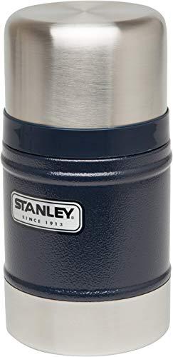 Stanley Legendary Classic Vakuum-Speisebehälter 0.5 L, 18/8 Edelstahl, mit Becher, Auslaufsicher, Food Container Thermobehälter Lunchbox