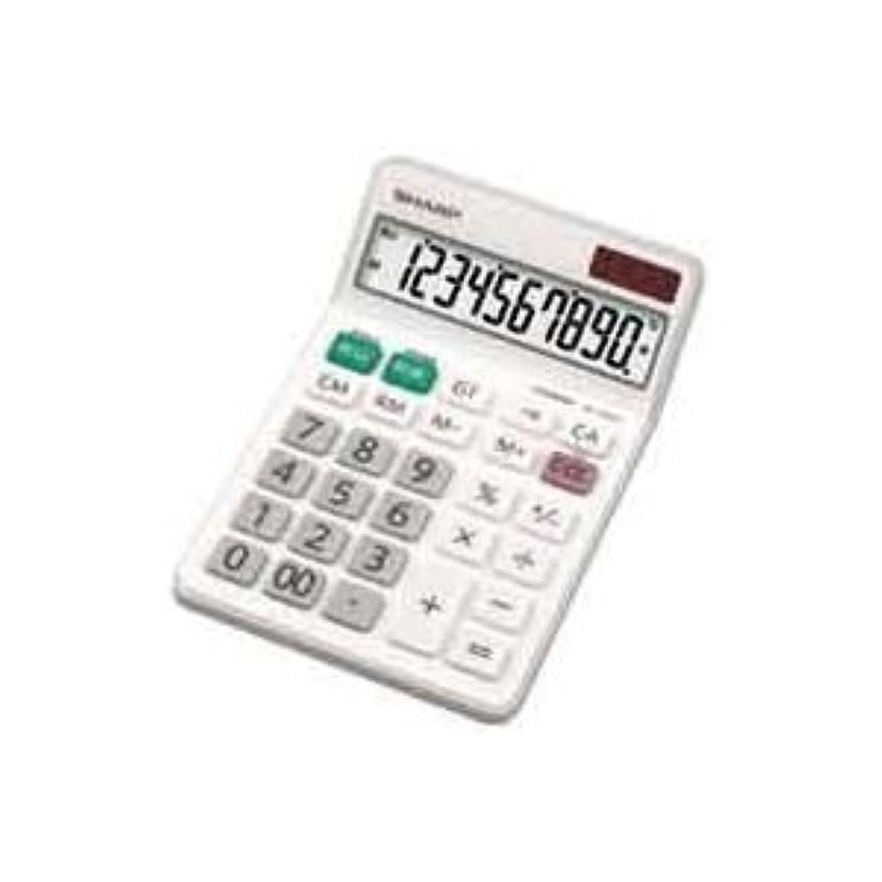 センサースタジオ顧問(業務用4セット)シャープ SHARP 電卓 10桁 EL-N431X ds-1474378