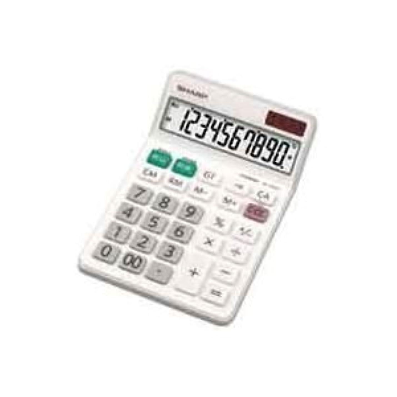 ブラジャー例外イースター(業務用4セット)シャープ SHARP 電卓 10桁 EL-N431X