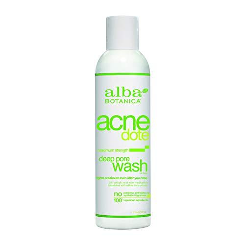 Alba Botanica Acnedote Maximum Strength Deep Pore Wash, 6 oz.