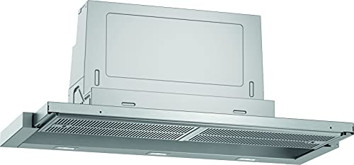 Neff D49ED52X1 Einbau-Dunstabzugshaube / Flachschirmhaube N50 / 90cm / Abluft oder Umluft / silbermetallic