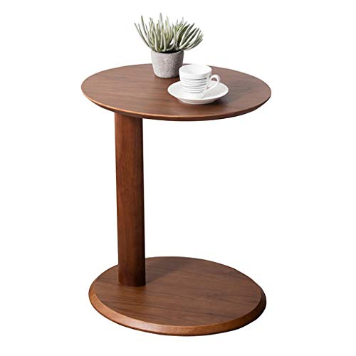 Side Table End Tables Sofa Seating Table Home Storage Table Simple Study Table Bedroom Bedside Table Best Gift (Color : Brown, Size : 483859cm)