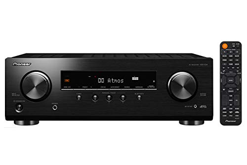 Pioneer VSX534 Home Audio Smart AV Receiver 52Ch HDR10 Dolby Vision Atmos and Virtual Enabled with 4K and Bluetooth
