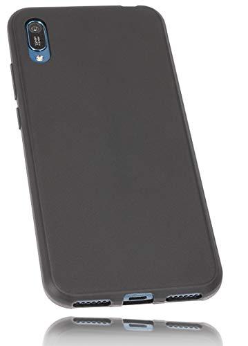 mumbi Hülle kompatibel mit Huawei Y6 2015 Handy Hülle Handyhülle, schwarz