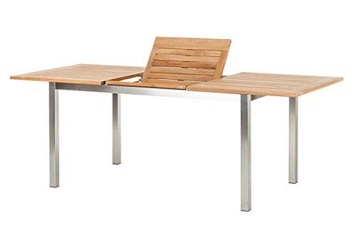 Trendy Home GmbH Ausziehbarer 150/210 x 90 x 75 cm Tisch, braun