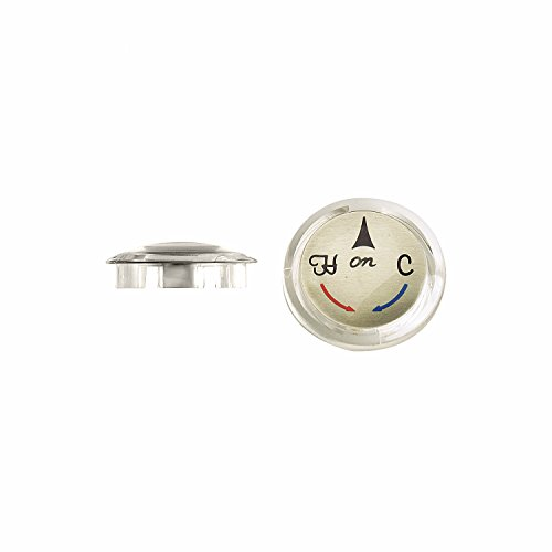 Danco 30764B Index Button for Delta Single Handle Faucets, Chrome