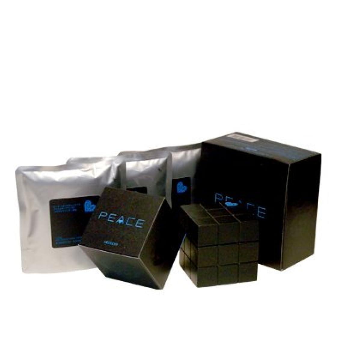 暴行研究所ランドマークアリミノ ピース プロデザインシリーズ フリーズキープワックス ブラック80g+詰め替え80g×3