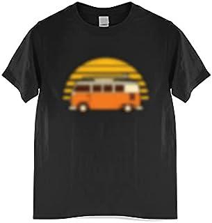 Fbnzmluqdx Tshirt for Men Summer Men T-shirt Fashion Shirt Top Tees,Comfortable Lightweight Men's T-shirt Size Tops (Color...