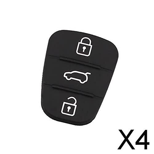 B Blesiya 4xCar 3 Buttons Remote Key Cover Shell for I30 IX35 Kia K2 K5