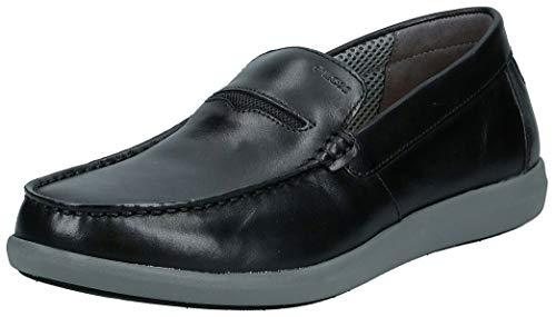Geox U Yooking A, Mocasines para Hombre, Negro (Black C9999), 43 EU