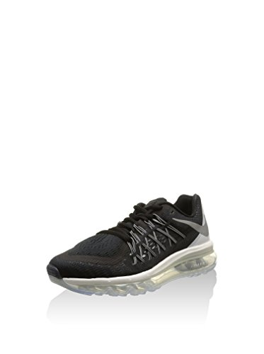 Nike Wmns Air Max 2015, Scarpe Sportive, Donna, Multicolore (Black/Rflct Slvr-Wht-Smmt Wht), 37.5