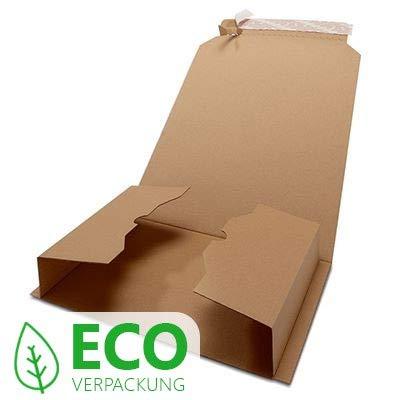 20er Pack - Davpack Buchversandverpackungen (147x126) - in vielen verschiedenen Größen erhältlich