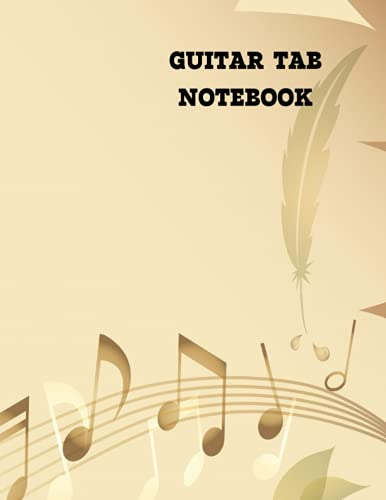 guitar tab notebook: guitar tab notebook for kids Music Writing Notebook For Kids | Blank Sheet Music Notebook | Wide Staff Blank Manuscript Paper , ... OF THE IS 8.5 X 11 INCH IT CONSISTS 120 PAGES