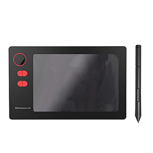 Festnight Tableta gráfica profesional G20 8192 Niveles Tableta de dibujo digital sin necesidad de carga Tableta grafische ultraligera Pen