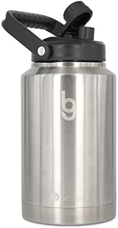 beGood Growler One Gallon Vacuum Insulated Jug Stainless Steel Insulated Beer Growler 128 oz product image