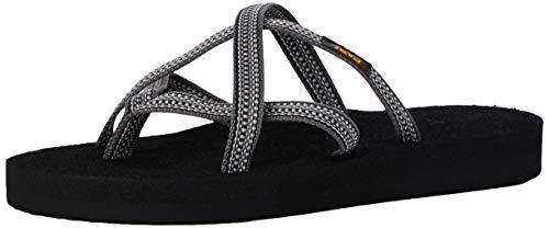 Teva Damen Olowahu Sandal Womens Pantoffeln, Grau (Antiguous Grey Ag Gr), 39 EU