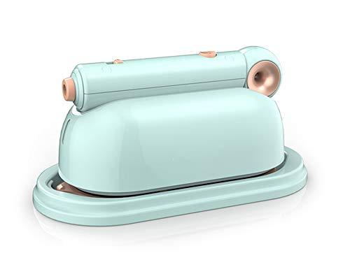 RENXR Vaporizador de Ropa de Mano Vaporizador de Ropa Mini vaporizador de Viaje de 1000 W Plancha de Vapor de Tela, Calentamiento rápido en 45S 100 ml de Gran Capacidad para el hogar/Viajes