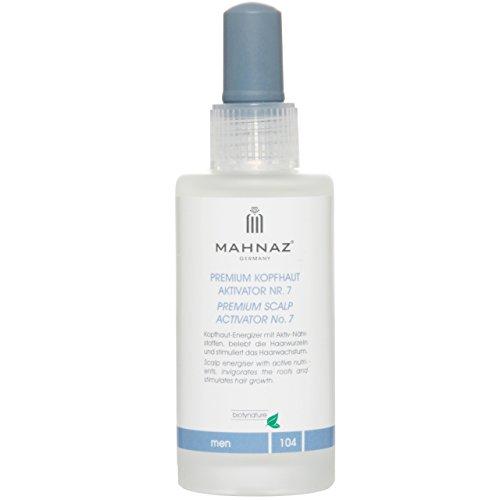 MAHNAZ Man, Premium Kopfhaut Aktivator Nr.7 gegen Haarausfall*, stärkt Haarwachstum, fördert Haarwuchs, hochkonzentriert, 2-Monatsvorrat, 100 ml