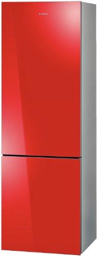 Bosch KGN36SR30 Kühl-Gefrier-Kombination / A++ / Kühlen: 219 L / Gefrieren: 66 L / Rot / No Frost / Flaschenrost