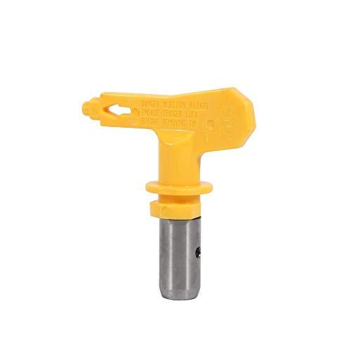 FTVOGUE Airless Universal Lackierpistole Spritzpistole Sprühpistole Professioneller Elektrischer Hochdruck Spray Maschinenspitze Verschleißfestes Düsenzubehör(219)