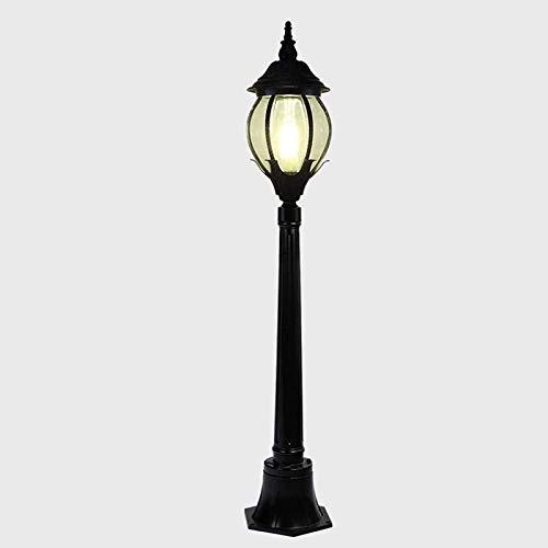 Post lampe outdoor globus landschaft beleuchtung feuchter rustikale säule lampe feuchtigkeit klassisch e27 basis post beleuchtung globus pillar po lampe für garten porch außen, traditionelle sty tatio