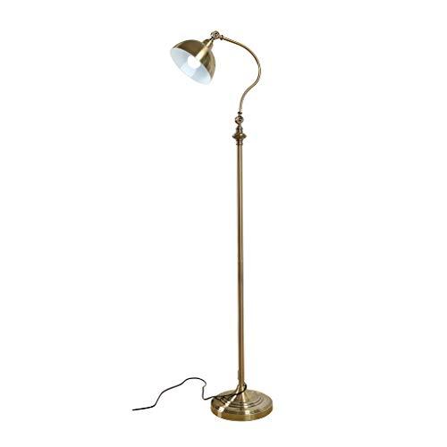 Floor Lamp Standing Light Vertical Lamps Lights Arc Floor Lamp Reading and Floor Lamp for Living Rooms Bedrooms Adjustable Head Indoor Pole Lamp with Foot Switch Floor Lamps Indoor Lighting