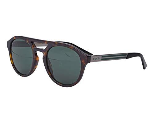 Gucci Sonnenbrillen GG0689S DARK HAVANA/GREEN 53/23/145 Herren