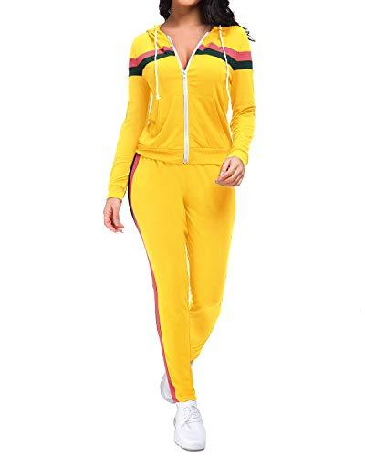 Unifizz - Chándal - para mujer amarillo S