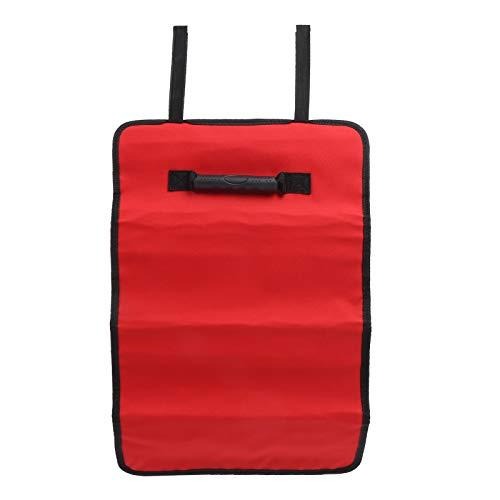 Alomejor Werkzeug Rollentasche Hängende Werkzeuge Aufbewahrungsbeutel Elektriker Organizer Mehrzweck-Werkzeug Rolltasche(rot)
