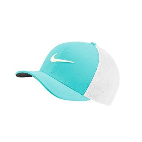 Nike AeroBill Classic99 Mesh Golf Cap 2019 Light Aqua/White/Sail One Size Fits All