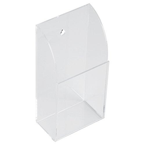 iFCOW Afstandsbediening Case, Acryl Air Conditioner Afstandsbediening Houder Case Opbergdoos Muur Mount 1 CASE Zoals getoond