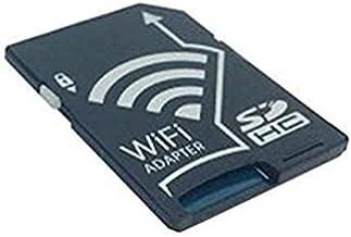Cablecc - Adaptador de tarjeta de memoria inalámbrica TF Micro SD a SD SDHC SDXC para iPhone, iPad, teléfono Android, tableta, DC DV SLR Carema