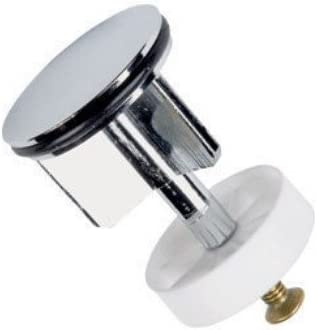 LKT Heavy Duty 40mm Chrome Plated Basin Sink Waste Pop-Up Plug Replacement Brass Metal